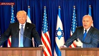 President Trump holds press event with Israeli Prime Minister Netanyahu