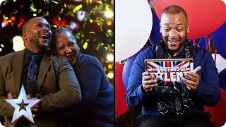 #ActsReact: Lifford Shillingford's GOLDEN BUZZER Moment | Britain's Got Talent - Video Youtube
