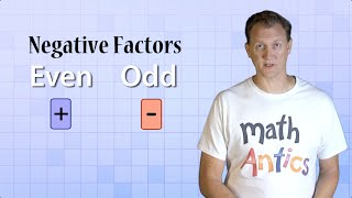 Math Antics - Integer Multiplication&Division