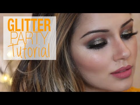 Tutorial | Glittery Bronzed Party Makeup & Hair Tutorial | Kaushal Beauty