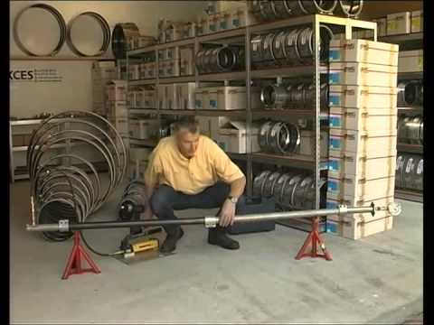 KCES Straub Pipe Coupling Demonstration