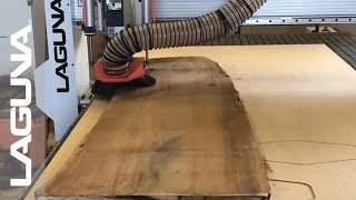 Featuring Wood Hi with their Laguna Tools SmartShop II CNC Router