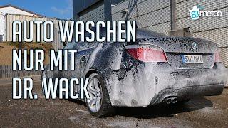 Auto waschen nur mit Dr. Wack Autopflege und A1 Spray Wax