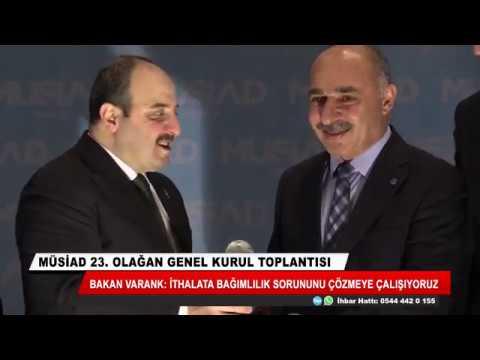 MÜSİAD Konya'da 23. Olağan Genel Kurul Toplantısı