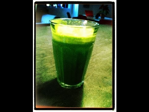 Video Green Juice as Beverage or Meal Replacement?