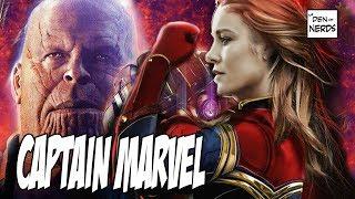 Captain Marvel Infinity War 2 | Avengers 4 theory | Kholo.pk