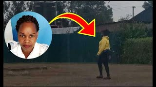 HOW WANTED CAROLINE KAGOGO ARRIVED AT HER PARENTS HOME, HEAD STRAIGHT TO TOILETS & SHOT HERSELF