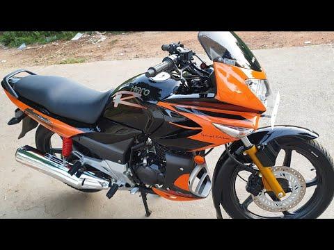 Hero Karizma R Orange and Black Special Edition Modification.