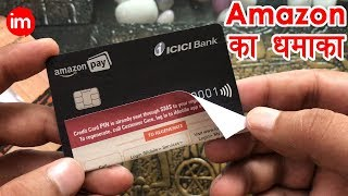 Amazon Pay ICICI Credit Card Unboxing and Review in Hindi - Amazon Credit Card in Hindi | Unboxing