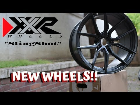 G35 Coupe Gets NEW WHEELS! ( XXR Slingshot ) * REACTION