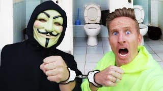 HANDCUFFED TO THE HACKER FOR 24 HOURS (BIG MISTAKE) AWKWARD PROJECT ZORGO SITUATION