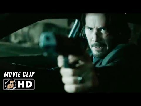 JOHN WICK Clip - Good Luck (2014) Keanu Reeves