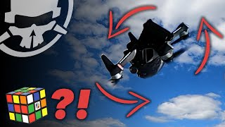 How to RUBIK'S CUBE with DJI FPV Drone - First Flight to Freestyle