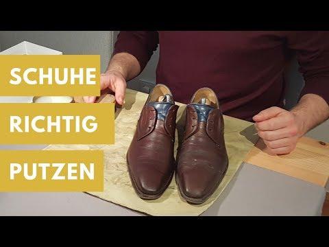 Männer-Schuhe richtig putzen
