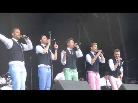 The Overtones - Groovin/Say What I Feel (Magic Summer Live 2013)