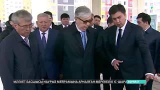 Президент Қасым-Жомарт Тоқаев Шымкенттегі құрылыс жұмыстарымен танысты