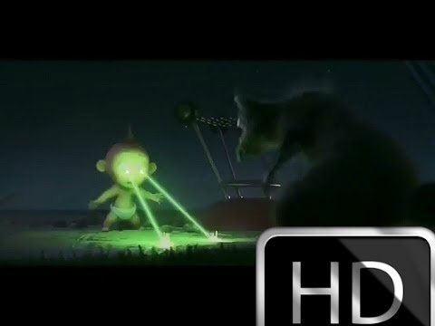The Incredible 2-  Jack-Jack vs Raccoon (full HD)