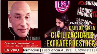 🔴 FRECUENCIA AUSTRAL ❌Hoy conversamos con Carlos Mesa sobre las civilizaciones extraterrestres
