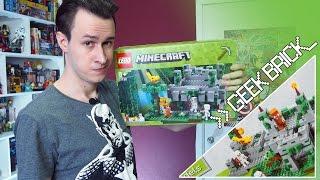 [Geek Brick Обзор] LEGO Minecraft 21132 Храм в джунглях!