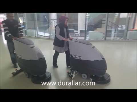 Akülü Yer Yıkama Makinası - Lavor Free Evo 50 B