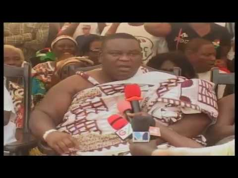 Watch: Gbese Mantse vows to abdicate if Nana Addo wins
