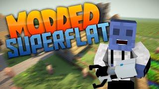 Minecraft Superflat - MODDED HYPE! Ep  1 (Modded Superflat) | iJevin
