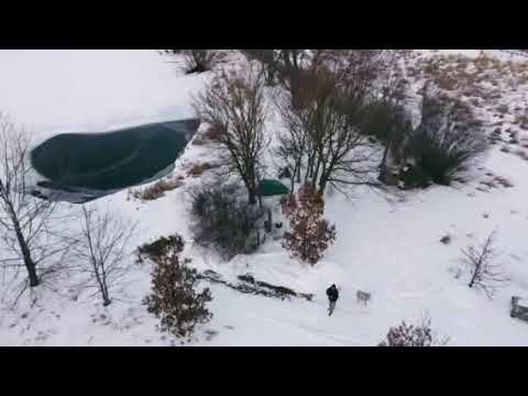 Video Of Winter Camp at Walking Stick Adventures Farm, IA