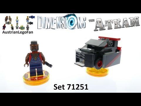 Vidéo LEGO Dimensions 71251 : A-Team - Mister T