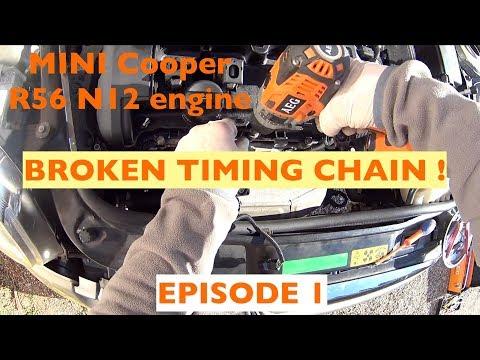 MINI COOPER R56 N12 ENGINE, CYLINDER HEAD REBUILT Episode 1