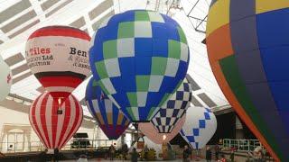 Llangollen RC Model Hot Air Balloon Meet 2020 (the Worlds ONLY Annual INDOOR Balloon Festival)