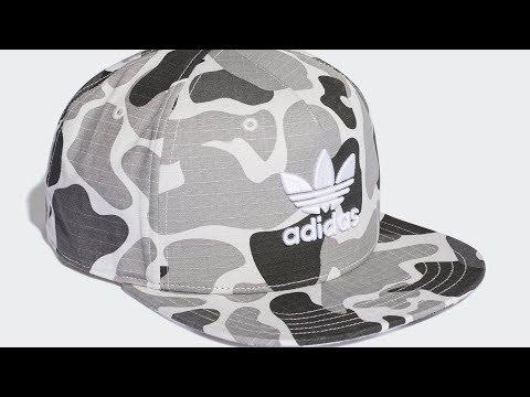Adidas Originals - Camouflage Snapback Cap (DH1022) | No. #556