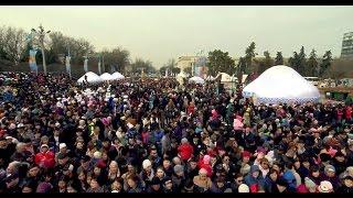В Алматы отметили Наурыз мейрамы (24. 03.17)