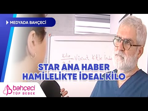 Star TV – Hamilelikte İdeal Kilo – Prof. Dr. Mustafa Bahçeci
