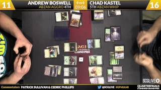 Grand Prix Miami 2015 Quarterfinals: Andrew Boswell vs. Chad Kastel