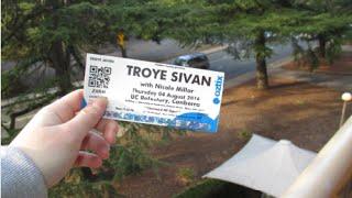 Gambar cover Troye Sivan live - Heaven- Canberra show (4.8.16)