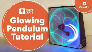 Make A Glowing Double Pendulum - Tinker Crate Project