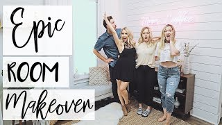 INTERIOR DESIGN: Shiplap Makeover | Epic Coffee Corner Makeover for Alisha Marie + Ashley Nicole