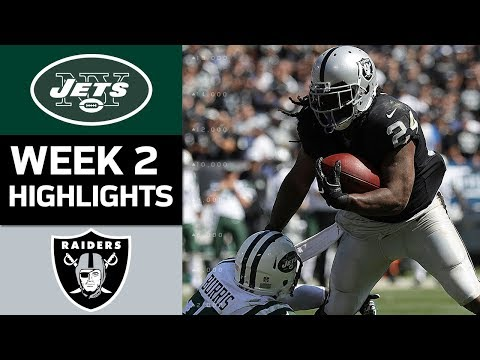 Jets vs. Raiders | NFL Week 2 Game Highlights