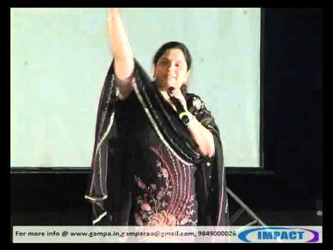 Self Motivation|Revathi Turaga|TELUGU IMPACT Hyd 2012