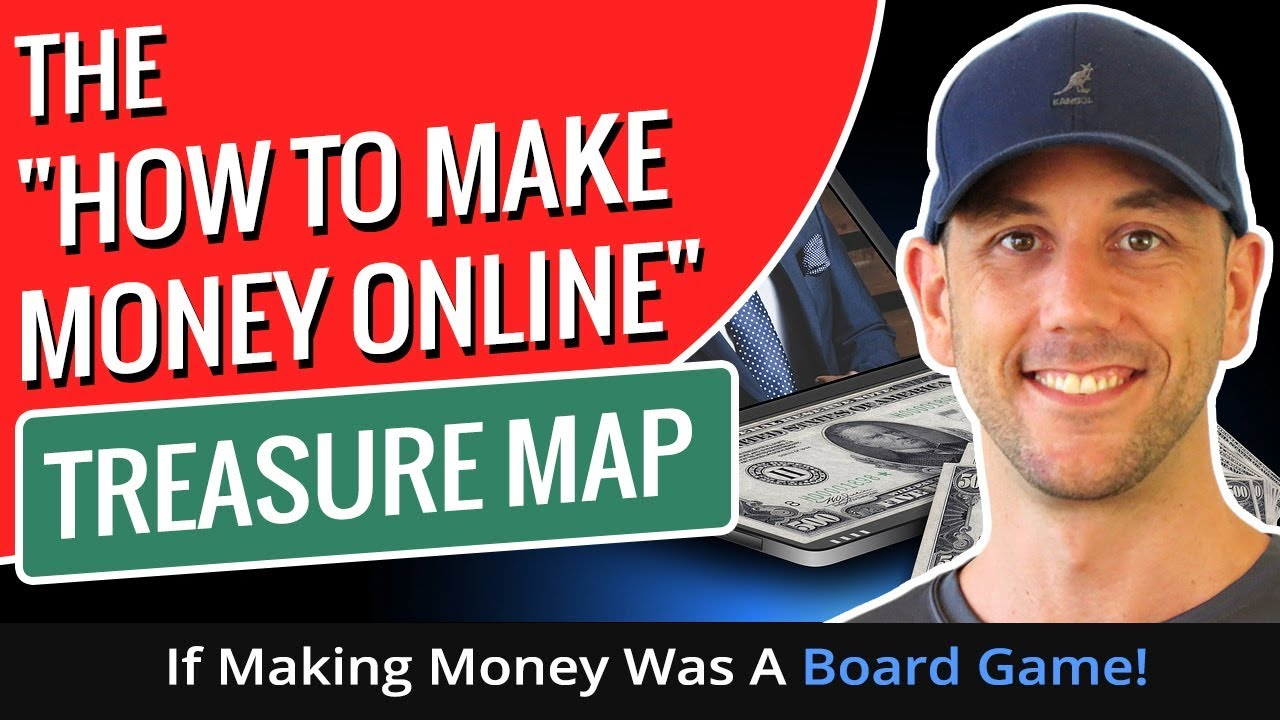"""The """"How To Generate Income Online"""" Treasure Map - If Earning Money Was A Parlor Game! thumbnail"""