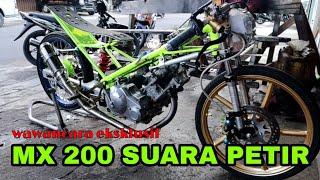 RAHASIA DI BALIK MX 200 SUARA PETIR || MX VS NINJA