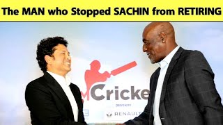 Sachin Reveals Sir Vivian Richards Stopped Him From Retiring After 'The Worst Day Of His Life'