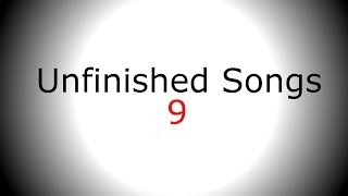Melancholic Piano Singing Backing Track - Unfinished Song No.9