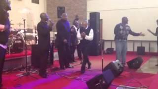 Shelby singers featuring Robert washington
