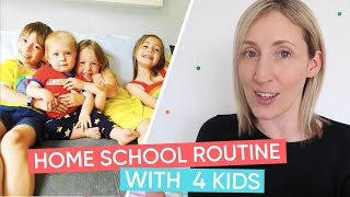 Homeschooling Daily Routine Ideas | Channel Mum