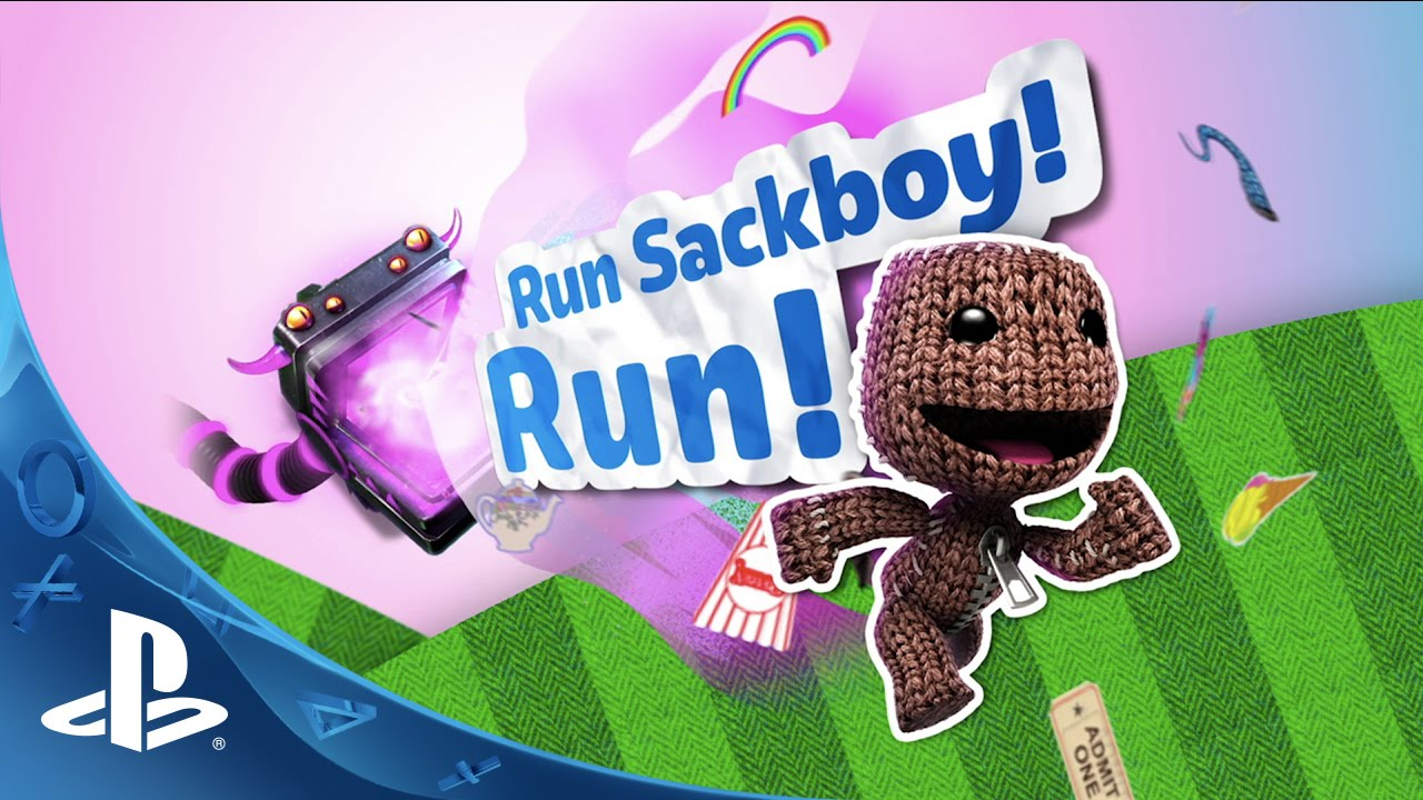 Run Sackboy! Run! Out Today on PS Vita