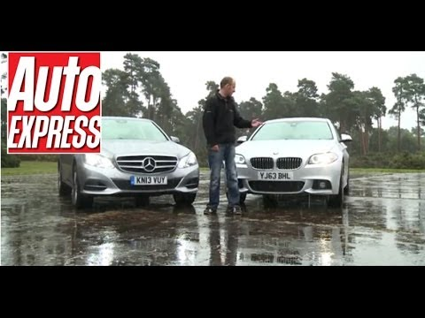 New BMW 5 Series vs new Mercedes E-Class - Auto Express