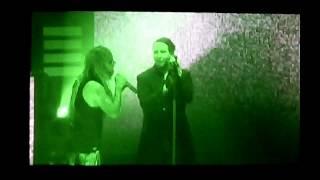 "Marilyn Manson & Rob Zombie ""Helter Skelter"" LIVE DEBUT Clarkston, MI 7/11/18"