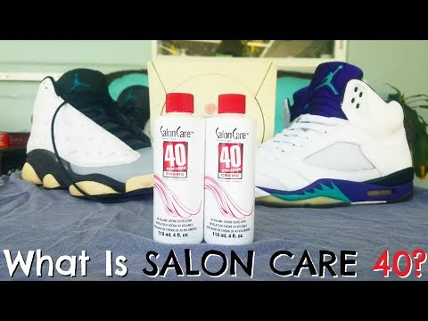 How To Remove Yellowing From Sneakers & Video Games - Salon Care 40
