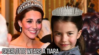 The Special Occasion Princess Charlotte Must Wait for to Wear Tiara like Kate